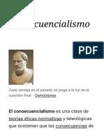 Consecuencialismo - Wikipedia.pdf