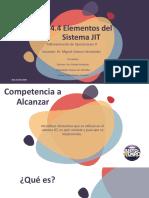 4.4 Elementos del sistema JIT