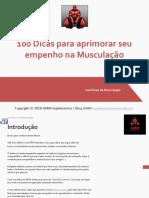 100 Dicas para aprimorar seu empenho na Musculação - GMM.pdf