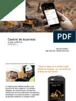 Control de Acarreos - Terraceria - Construccion