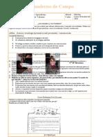cuaderno de campo  modelo