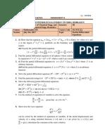 Assignment 4 MATH 222