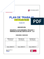 1. Plan de Trabajo