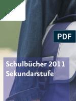 Schulbuchverzeichnis Sekundar 2011