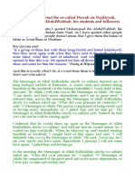 Clarification About the So-called Dawah an-Najdiyyah, Muhammad Ibn AbdulWahhab, His Students and Followers