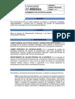 PRO-GC-007-PROCEDIMIENTO DE AUTOEVALUACION