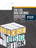 Sustainalytics - The ESG Risk Ratings (2018)