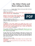 Who Are the Ahlu L-Fatra and What is Their Ruling in Sharia
