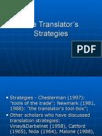 The Translator's Strategies