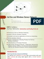 EC8702 ADHOC & WSN presentation