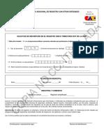 Formulario Adicional de Registro Con Otras Entidades 1