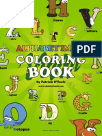 Alphabetimals FREE Coloring Book