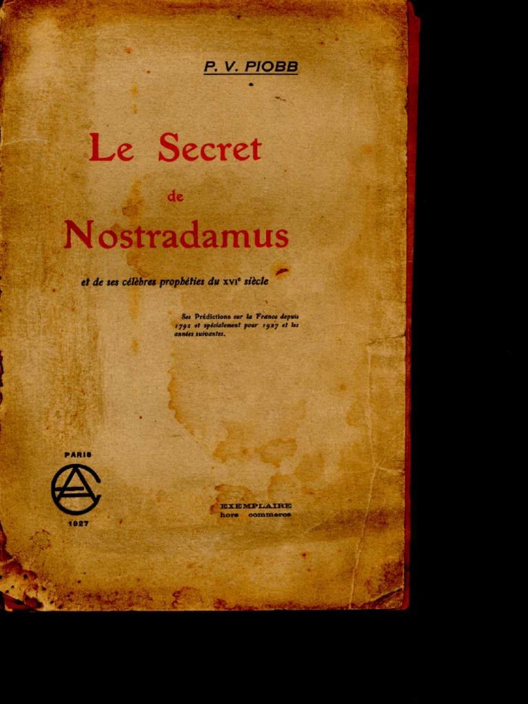 Le Secret de Nostradamus