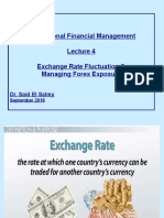 MNFM Lecture 4 Slides - Exchange Rate Fluctuation and Managing Forex Exposure.pptx