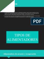 ALIMENTADORES DE MINERALES