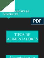 ALIMENTADORES DE MINERALES 2