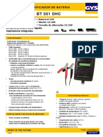 Tester BT501 DHC