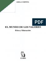 EL MUNDO DE LOS VALORES. ADELA CORTINA.pdf