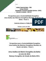 Matrizes Bahia (Caps 2 e 5)