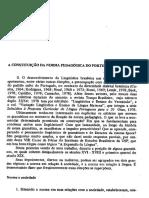 CASTILHO. A constituição da norma pedagógica do português