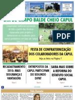 INFORMATIVO JORNAL CAPUL  - EDIÇÃO 120 - JANEIRO DE 2011 - UNAÍ-MG
