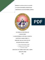 CALOR DE HIDRATACION CEMENTO YESO