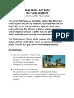 Miami Beach Art Deco Cultural District