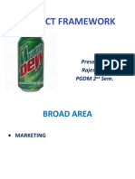 Project Framework Mountain Dew