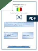 Catalogue Global,maitres d'opérations,relations d'approbations