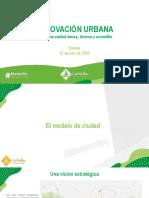 Renovación urbana en Medellín • Ponencia del concejal Daniel Carvalho