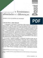 MORAES, Maria Lygia Quartim de. Marxismo e feminismo - afinidades e diferenças.pdf