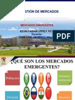 PRESENTACIÓN MERCADOS EMERGENTES