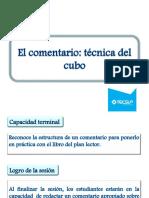 TEOE- 15  EL COMENTARIO-TÉCNICA DEL CUBO