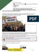 Times New Roman - Situaţie dramatică la Buzău! 7452 de moldoveni din 7491 de teste