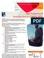 SEI Authorized Introduction to CMMI-DEV V1.3