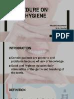 ppt procedureonoralhygiene