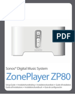 Sonos Zone Player ZP80