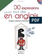 Les 800 expressions pour tout d - Lallement Brigitte (1)