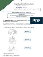 INSTITUCIONES EN SERVICIO A LA COMUNIDADhistoria