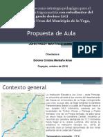 Propuesta de Aula - John Martínez.pptx