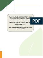 Protocolo Bioseguridad OPARING S.AS.