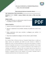 INFORME ANUAL DE LAS ACCIONES DE LA COMISIÓN PEDAGÓGICA 2019 (1)