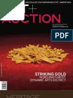[BW] Art + Auction Magazine (January 2010)