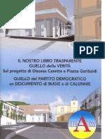 Libro Trasparente Progetto Discesa Casette Piazza Garibaldi Atessa