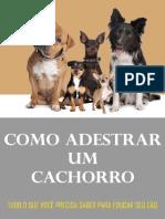 Como Adestrar Um Cachorro by Claudio Maciel