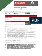 Trabajo Académico PASTELERIA
