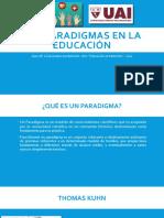 Los paradigmas en la educación