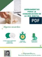 Herramientas para la Comunicación Digital  25-05