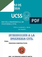 TEMA 02 - PROCESOS CONSTRUCTIVOS