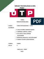ESQUEMA DE ENTREGABLE III-JUEVES